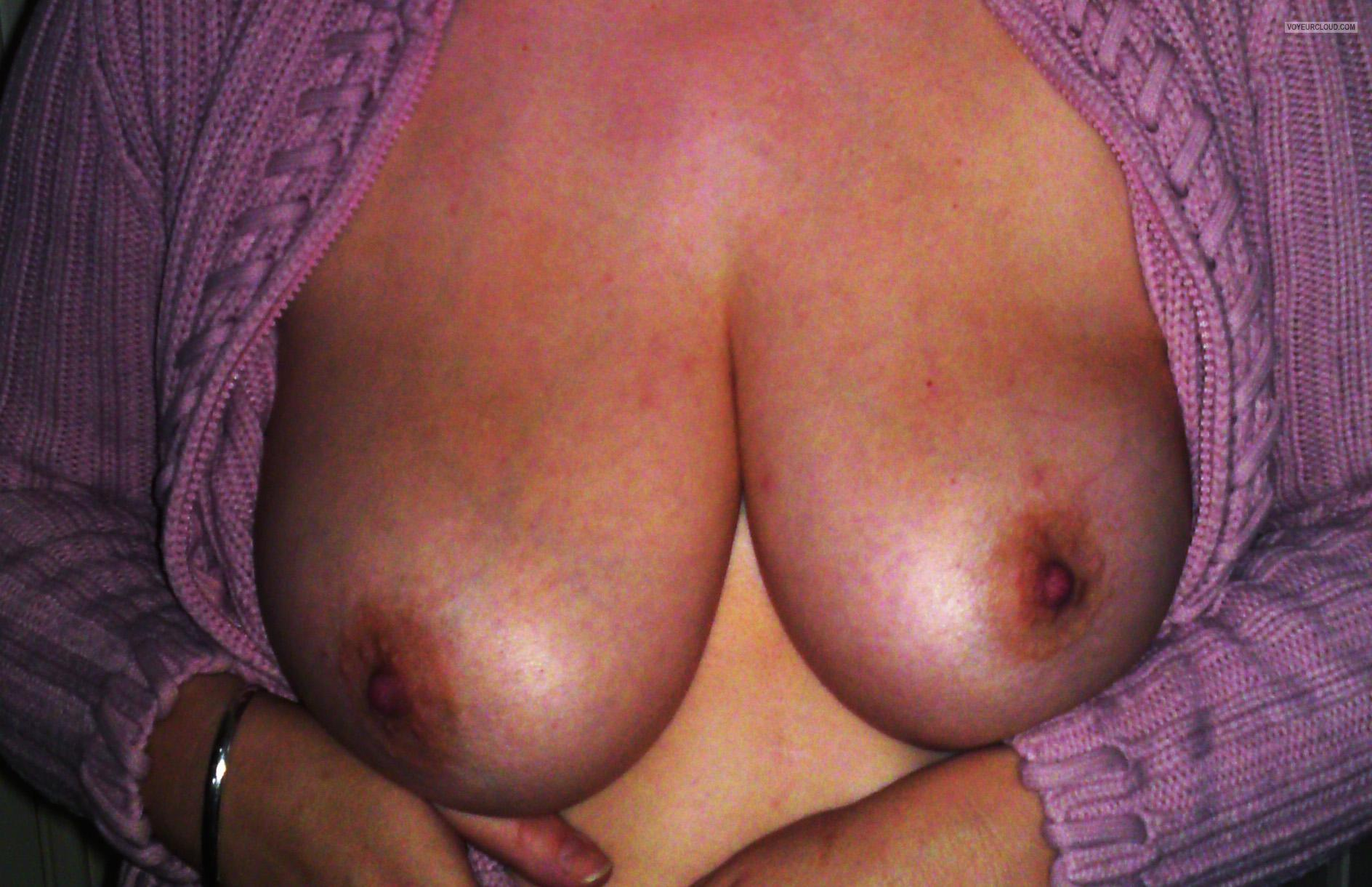 Tit Flash: My Big Tits - Rachel from United States
